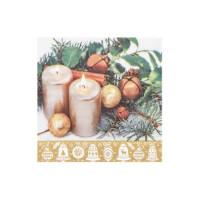 Vánoční ubrousky 3-vrstvé 33x33 - motiv 84283 [20 ks]