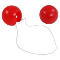 Karnevalový nos KLAUN - plast [6ks]