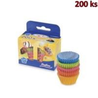 Cukrářské košíčky barevné mix Ø 25 x 18 mm [200 ks]