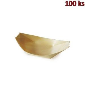 Fingerfood miska dřevěná, lodička 13 x 8 cm [100 ks]