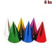 Papírové barevné kloboučky