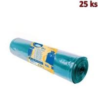 Pytle na odpadky modré 57,5x100cm,70 l, Typ 40