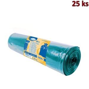 Pytle na odpadky modré 70x110cm,120 l, Typ 60 [25 ks]