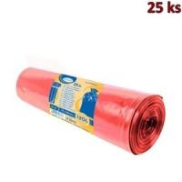 Pytle na odpadky červené 70x110cm,120 l, Typ 60
