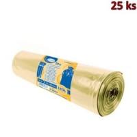 Pytle na odpadky žluté 70x110cm,120 l, Typ 60