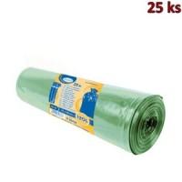 Pytle na odpadky zelené 70x110cm,120 l, Typ 60