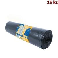 Pytle na odpadky černé 70x110cm,120 l, Typ 100