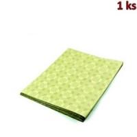 Papírový ubrus skládaný 1,80 x 1,20 m béžový