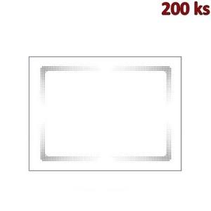 Papírové prostírání 30 x 40 cm bílé [200 ks]
