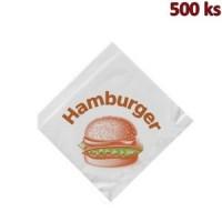 Sáčky na hamburger 16 x 16 cm [500 ks]