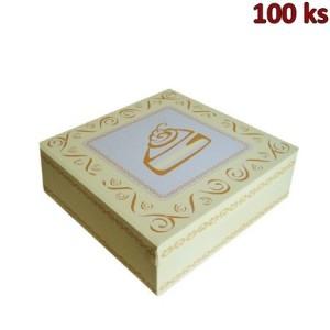 Krabice na dort - celoplošný potisk - 28x28x10 cm [100 ks]