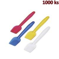 Plastové lžičky na zmrzlinu barevný mix 9,5 cm [1000 ks]