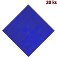 Napron PREMIUM 80 x 80 cm tmavě modrý [20 ks]