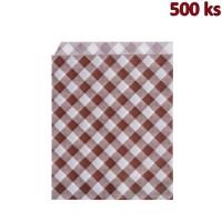 Papírové sáčky KARO 14 x 19 cm [500 ks]
