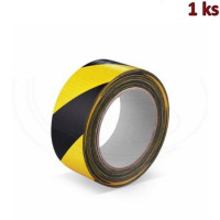 Lepící páska s tkaninou, žluto-černá 33 m x 50 mm [1 ks]