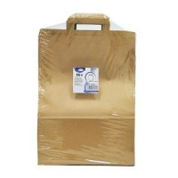 Papírové tašky 32x15 x 43 cm hnědé [50 ks]