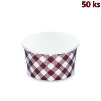 Papírová miska kulatá KARO 350 ml, S (Ø 115 mm) [50 ks]