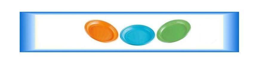 Plastové talíře